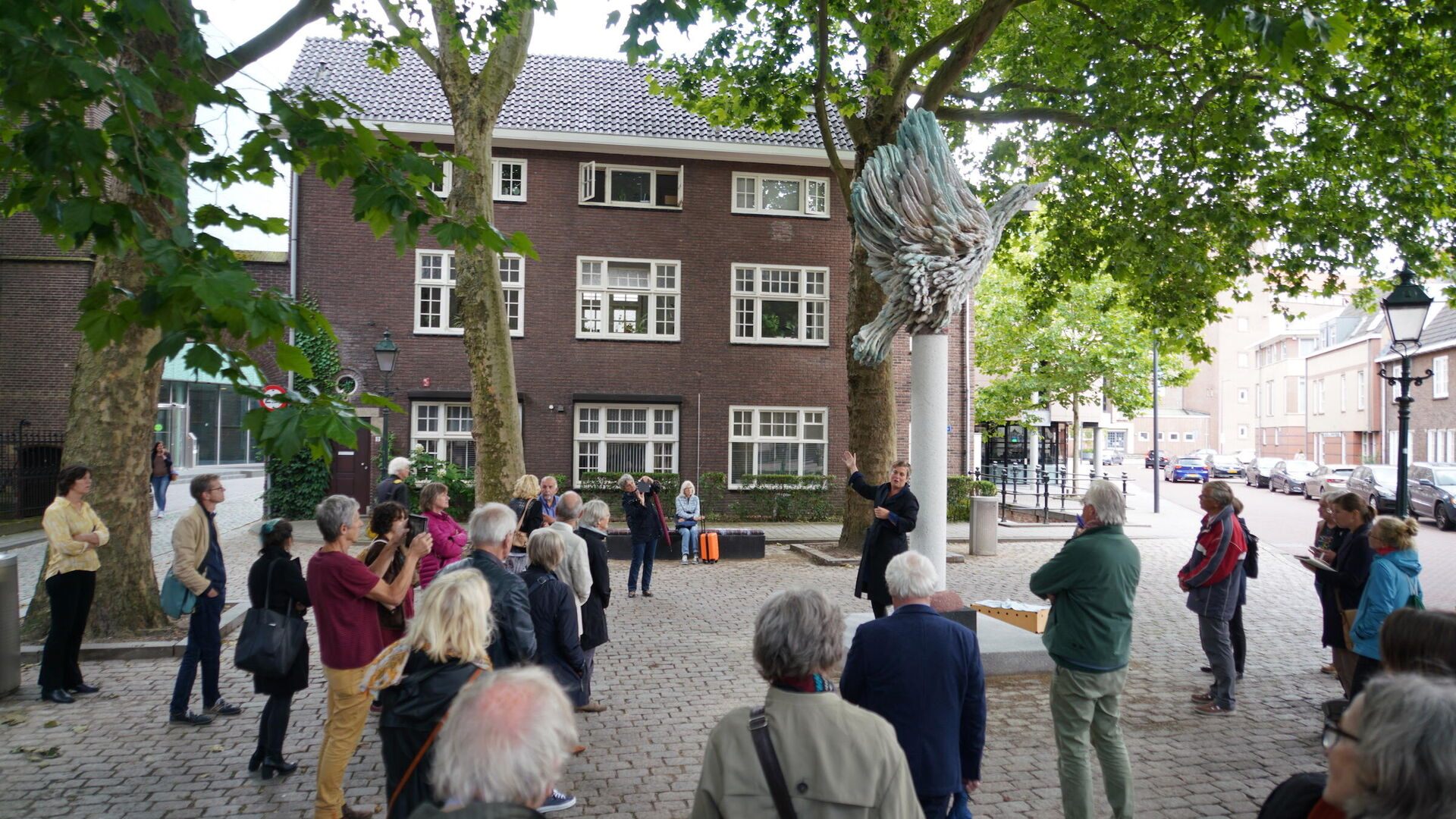 Anne Wenzel creëert herdenkingsplek voor Anne Frank in Den Bosch