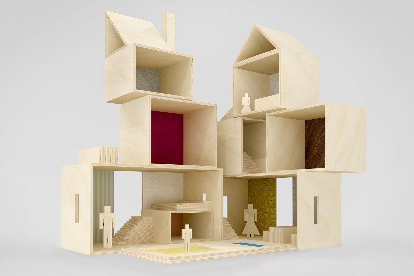 Architecten ontwerpen poppenhuizen in relatie tot energiestofwisselingsziektes