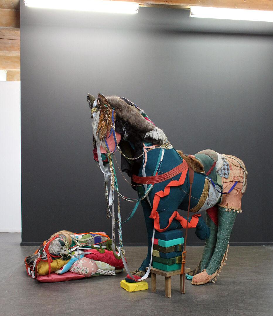 Blog   Textiel en de Kunst