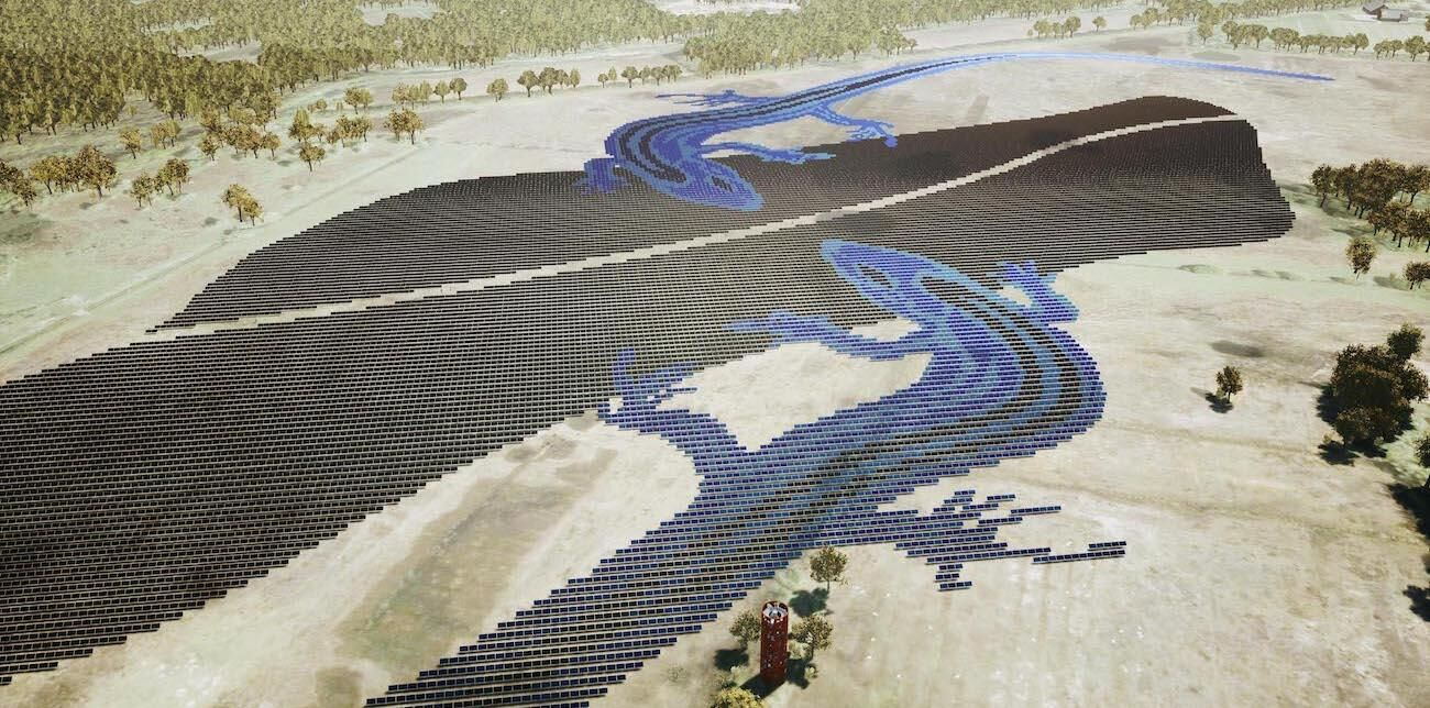 Caro Agterberg_ Dutch Blue_ ontwerp voor een fictief zonnepark_Energy meets the Arts