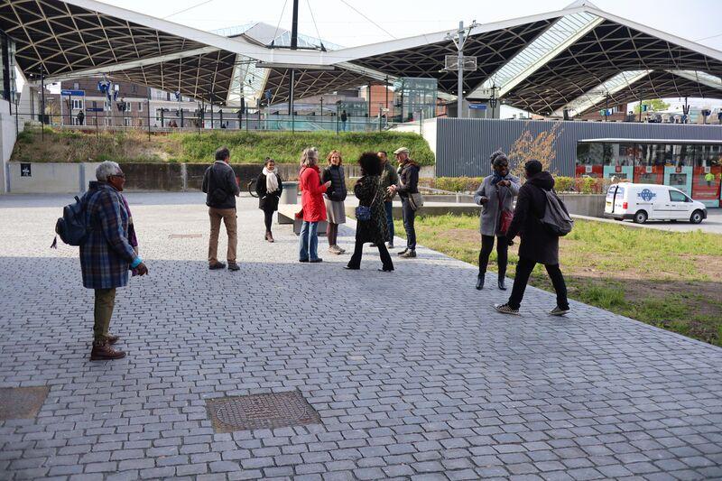 Herdenkingsmonument Slavernijverleden in Tilburg