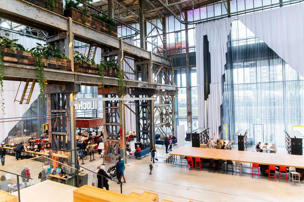Hét Landelijke Cultuurdebat vanuit de LocHal in Tilburg