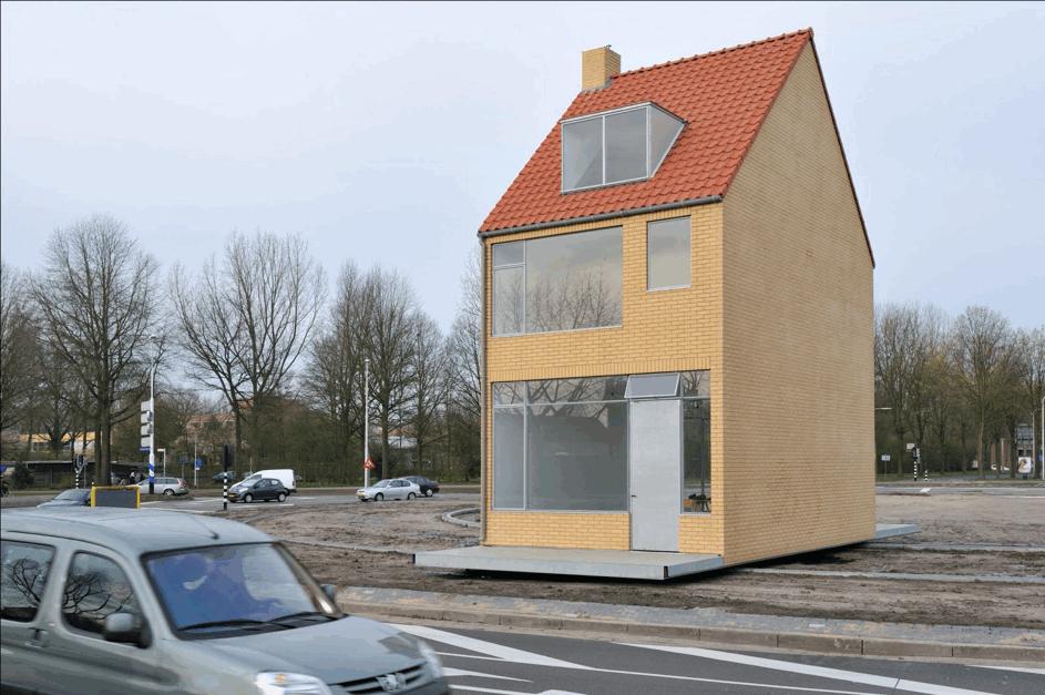 John Körmeling, Draaiend Huis, Tilburg, foto Peter Cox
