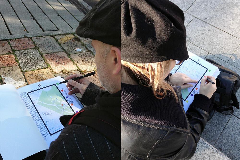 Nabuurs & Van Doorn , Straatmapping Zwischenlandschaften 4, 2019, Milaan (IT)