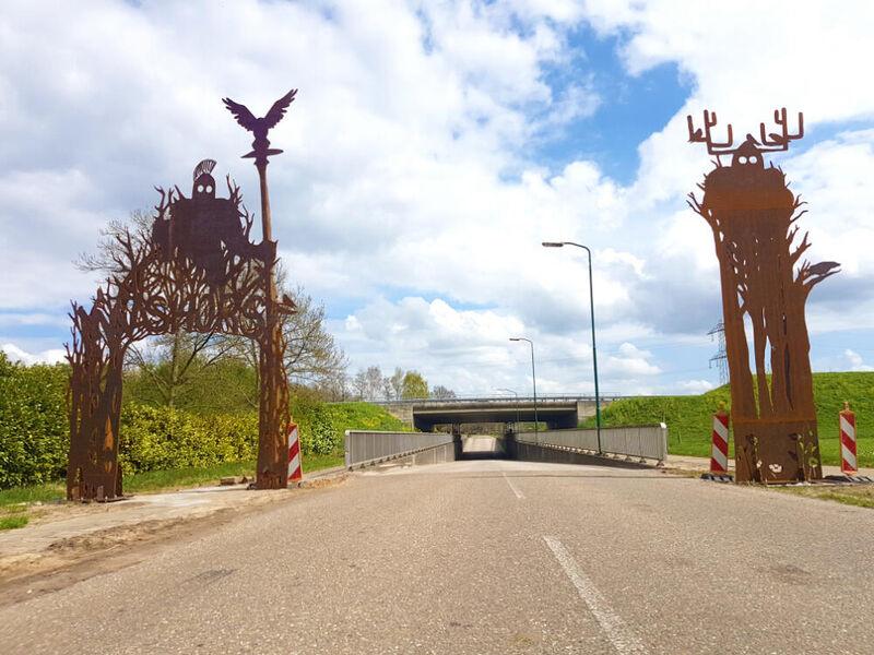 Viaducten Menzel en 't Loo